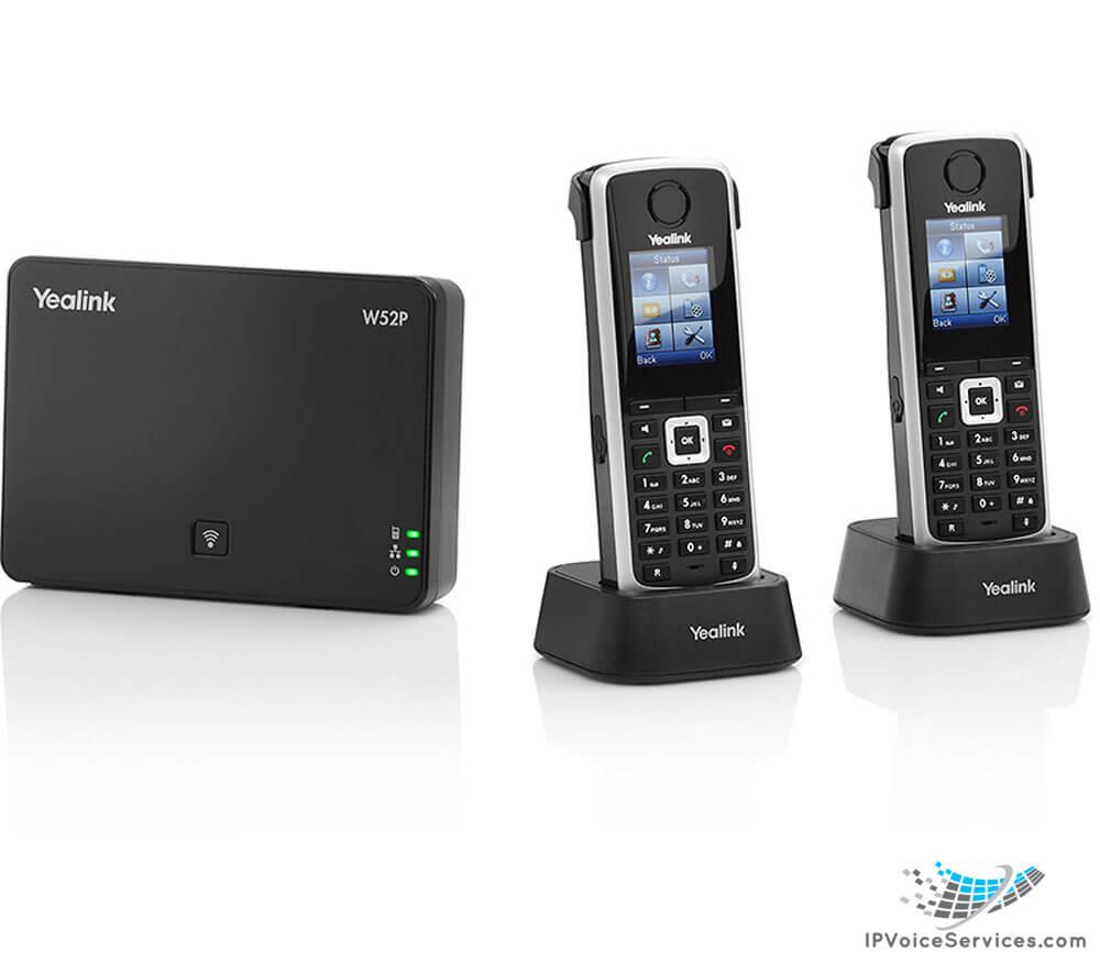 Yealink W52P Wireless DECT IP Phone